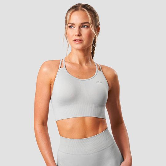 Define Seamless Sport Bra, Light Grey