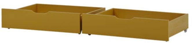 Hoppekids Sängynaluslaatikot IDA-MARIE 2-pack, Yellow