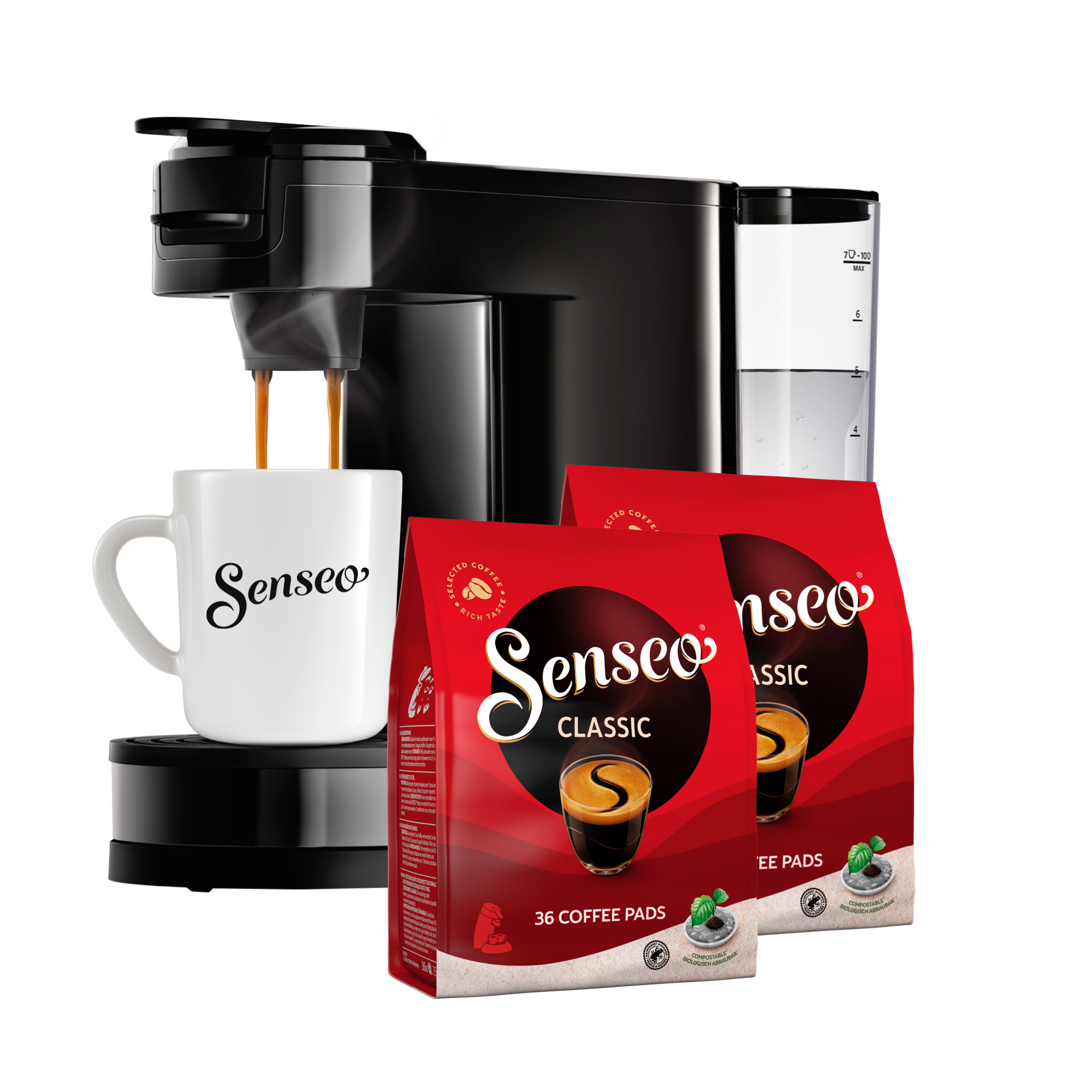Senseo - Switch 3in1 Startkit