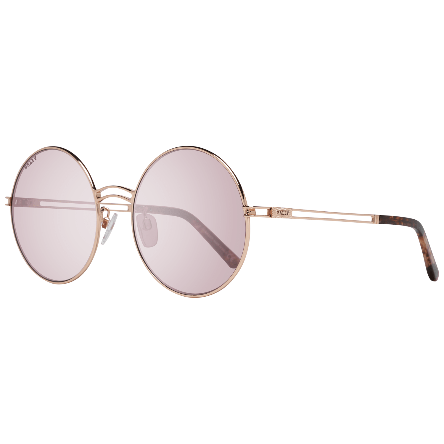 Bally Women's Sunglasses Rose Gold BY0001-D 5628S