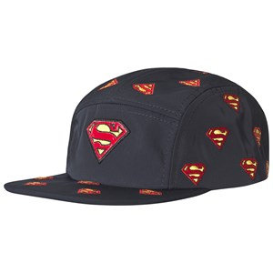 Fabric Flavours Superman Logo Keps Marinblå One Size (5-10 years)