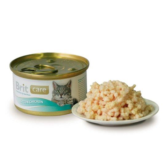Brit Care Kitten Chicken Burk