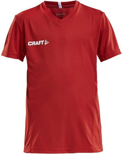 Craft Jersey T-skjorte, Bright Red 122-128