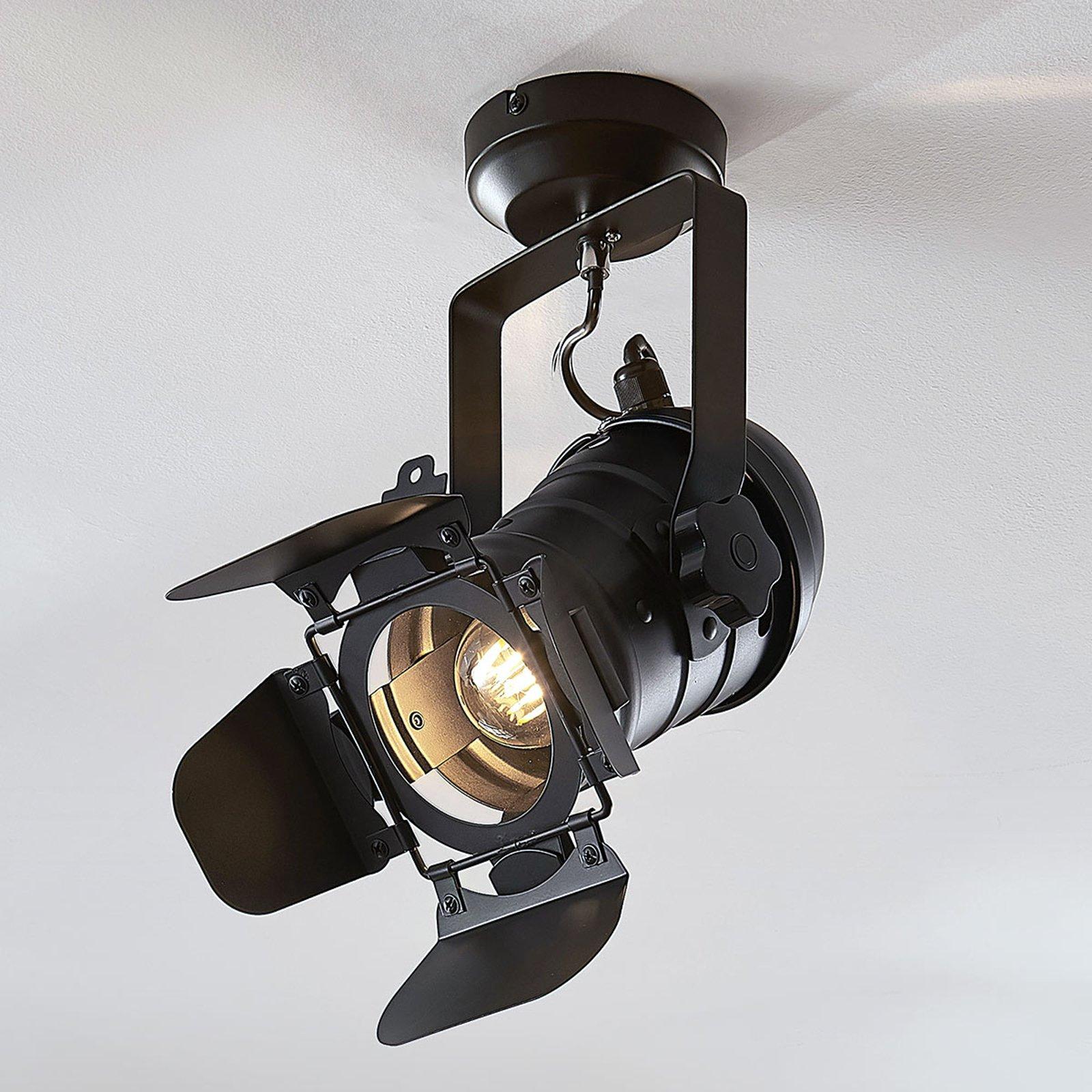 Taklampe Tilen, 1 lyskilder, lyskasterdesign