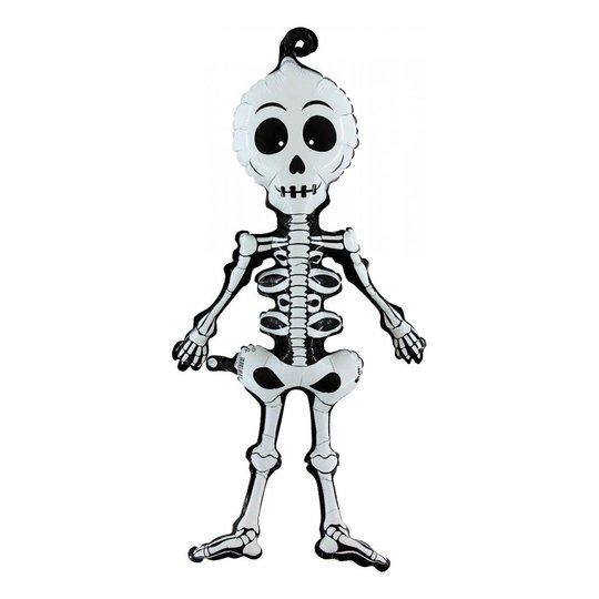 Folieballong Linky Skelett