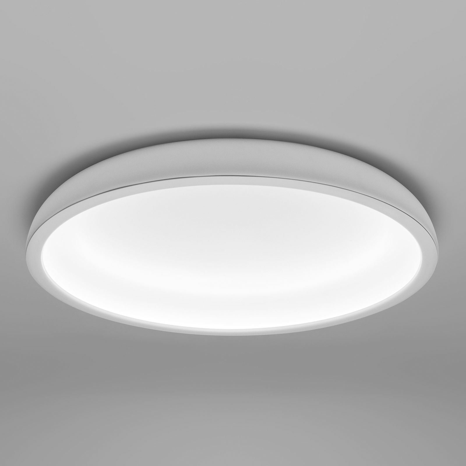 Reflexio LED-taklampe, Ø 46cm, hvit