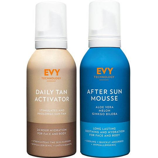 Daily Tan Activator & After Sun, EVY Technology Ihonhoito
