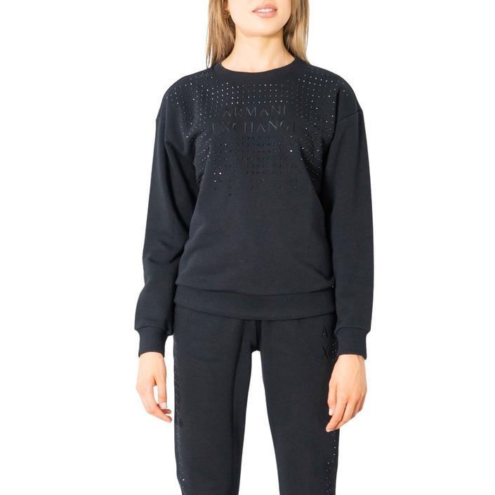 Armani Exchange Women's Sweatshirt Black 300067 - black XS