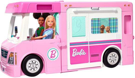 Barbie 3-In-1 DreamCamper Campingbil Og Tilbehør
