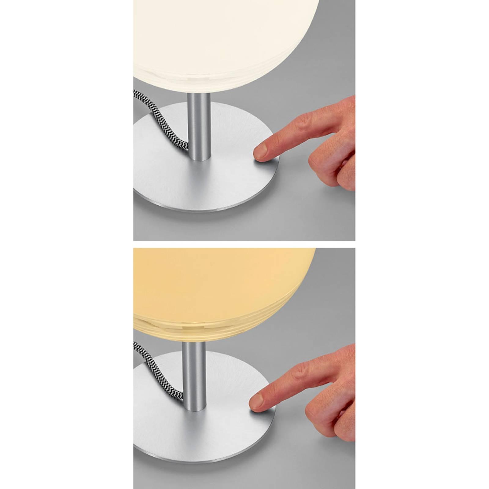 Bopp Flavor -LED-pöytälamppu, kosketushimmennin