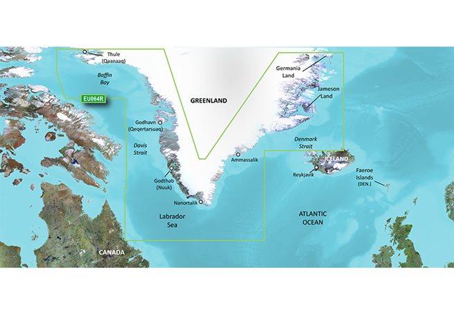 Garmin Greenland Garmin microSD™/SD™ card: HXEU064R