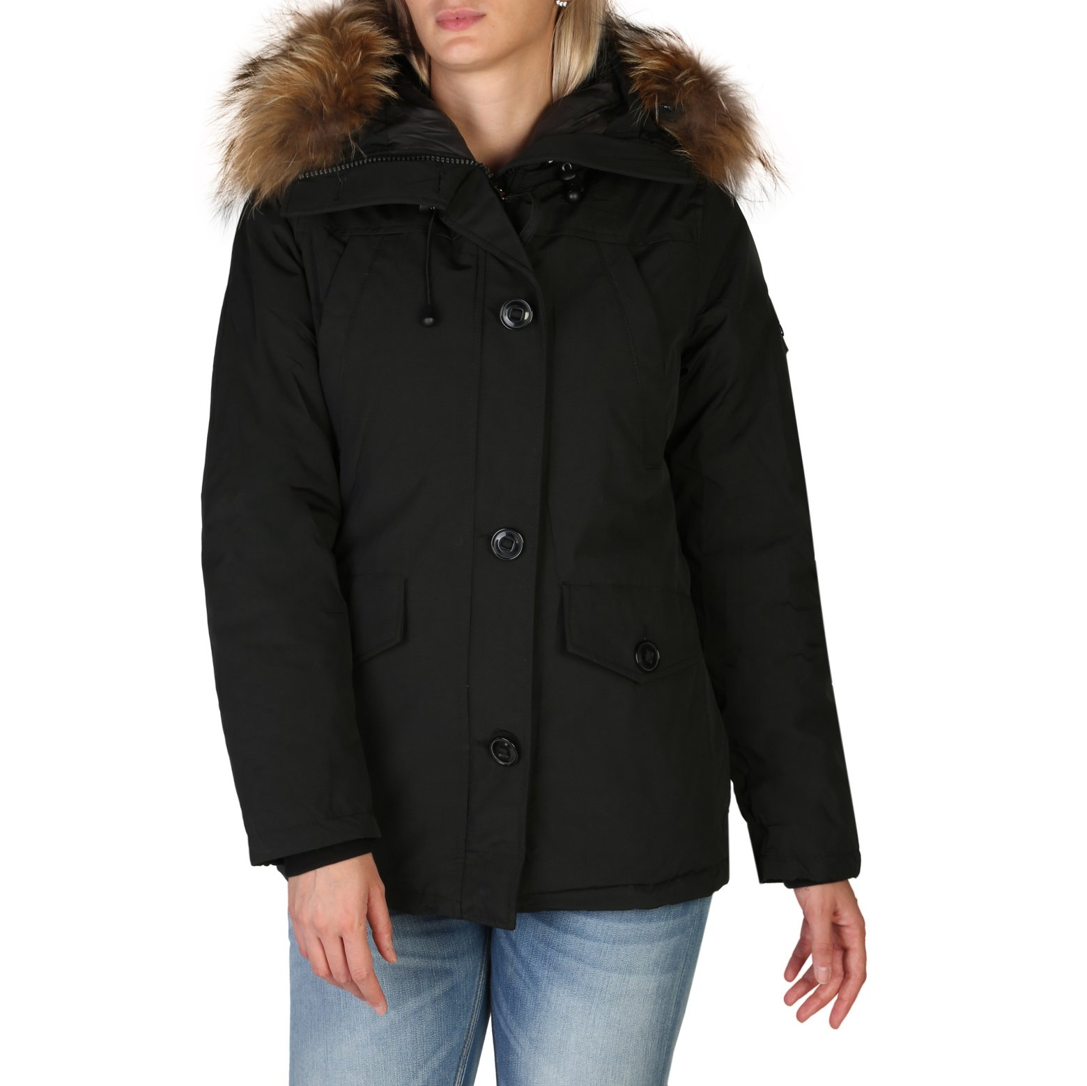 Alessandro Dell'Acqua Women's Jacket Various Colours 348359 - black XL