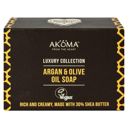 Akoma Argan & Olive Oil Soap, 105 g
