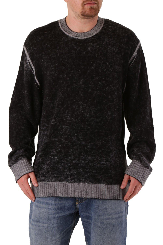 Diesel Women's Sweatshirt Black 298717 - black-3 XL