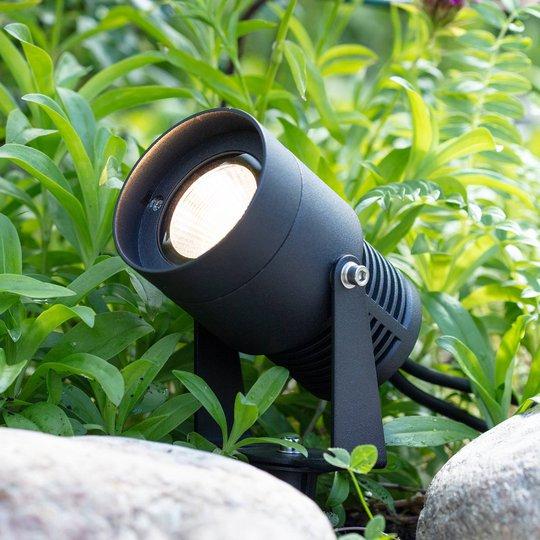 Garden 24 LED-spotlight, svart, 3 watt