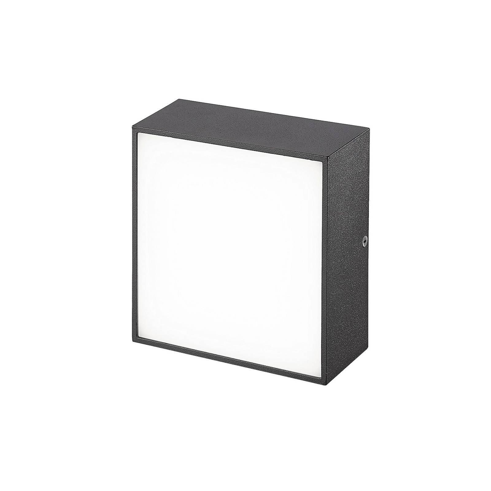 Utendørs LED-vegglampe CMD 9023, 14 x 14 cm