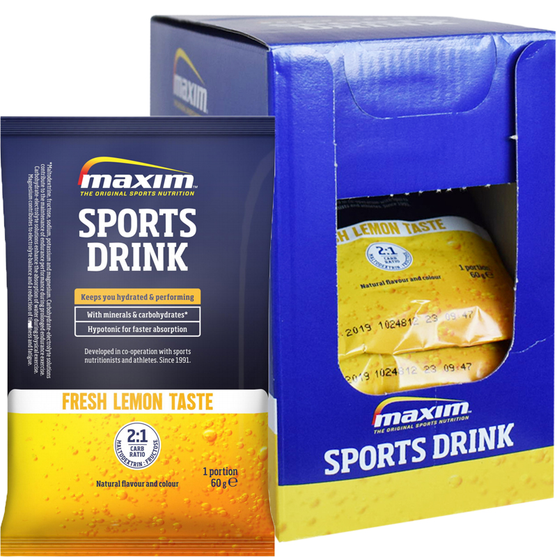 "Hel Låda Sportdryckspulver ""Fresh Lemon"" 20 x 60g - 60% rabatt"