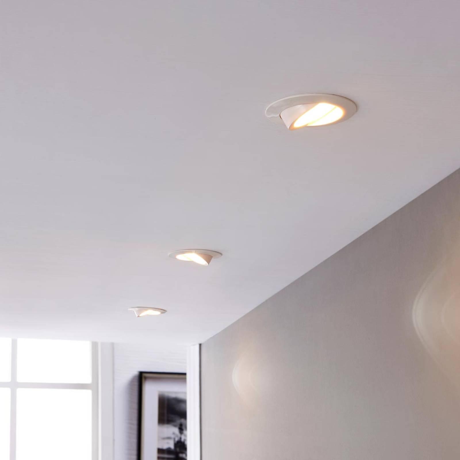 LED-kohdevalaisin Andrej pyöreä, valkoinen 3-sarja