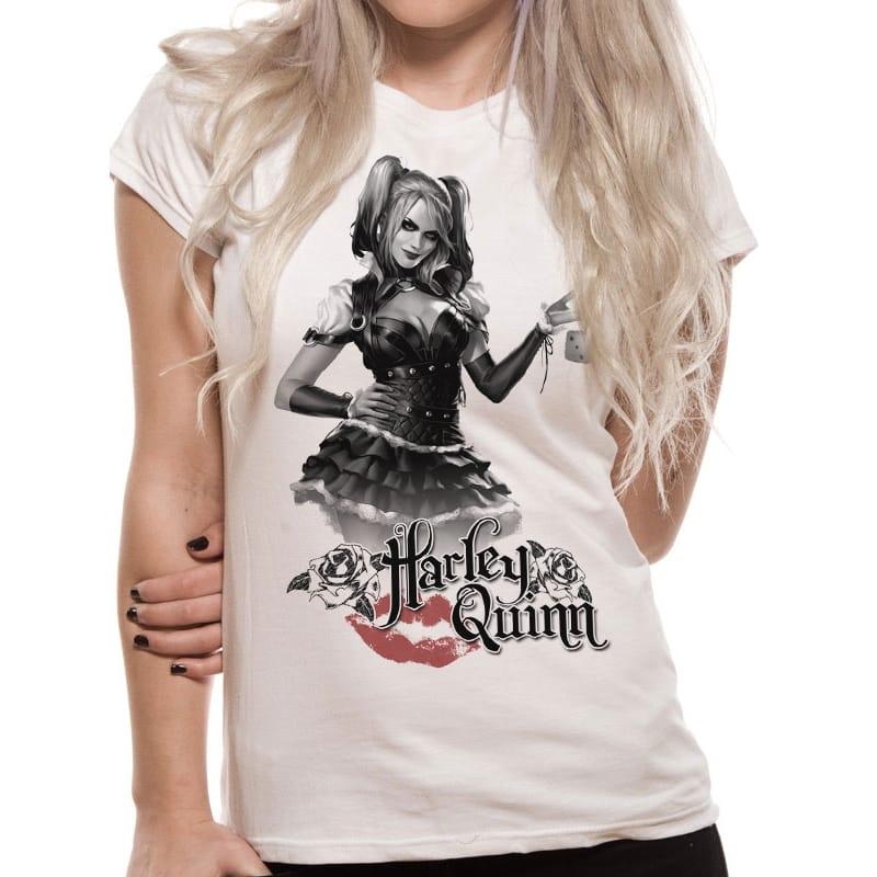 Batman Harley Quinn Arkham Night T-Shirt, XL