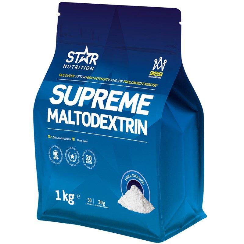 Hiilihydraattijauhe Maltodextrin 1kg - 50% alennus
