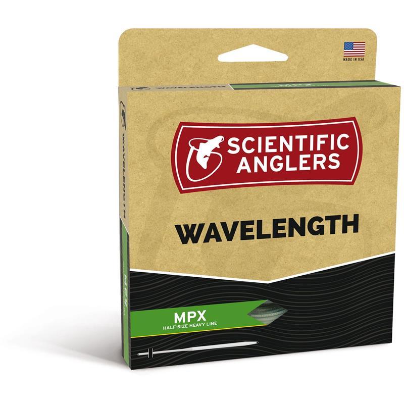 SA Wavelength MPX Flyt WF #9 Amber/Optic Green