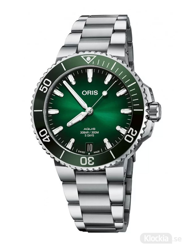 ORIS Aquis Date Caliber 400 41.5mm 400-7769-4157-07-8-22-09PEB
