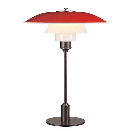 PH 3½-2½ Bordlampe - Rød