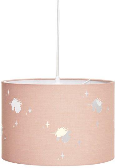 Alice & Fox Taklampe Unicorn, Dusty Pink
