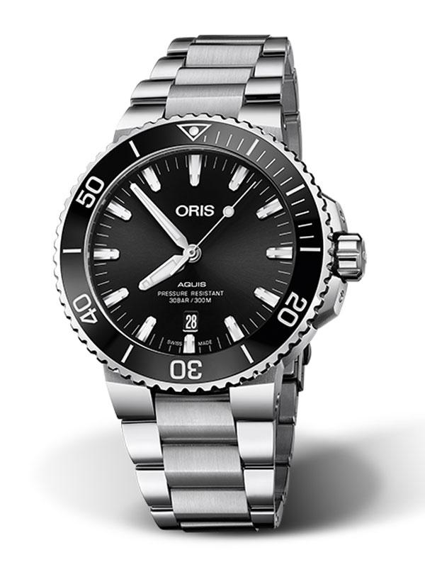 ORIS Aquis Date 43,5mm 733-7730-4134-07-8-24-05PEB