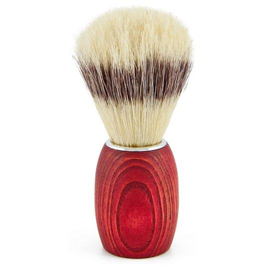Redecker Rakborste Bokträ med Naturborst - Röd, 9,5 cm