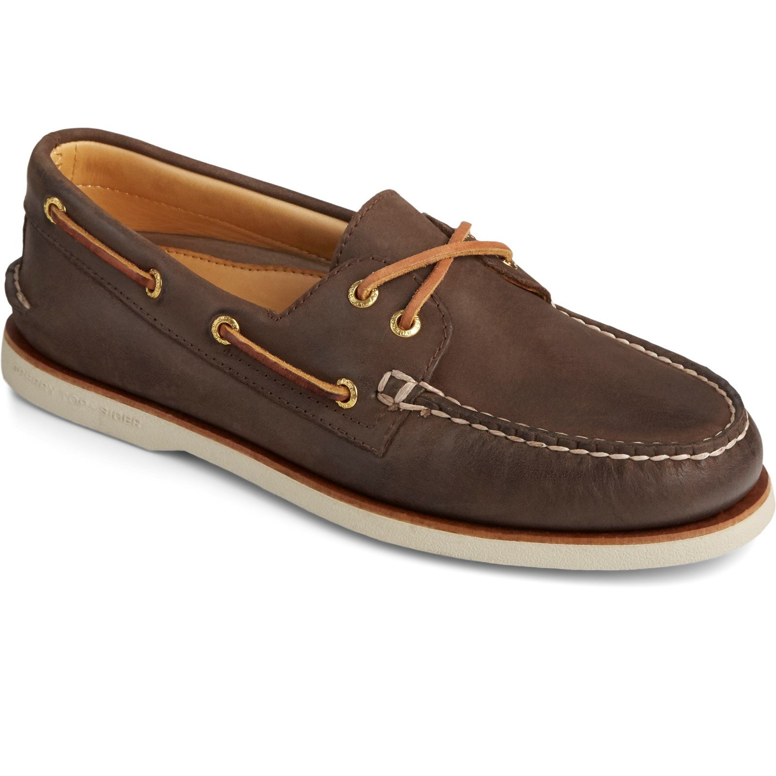 Sperry Men's Cup Authentic Original Boat Shoe Various Colours 31735 - Brown 8