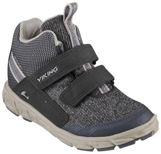 Viking Rindal Mid GTX Sneaker, Charcoal/Granite, 32