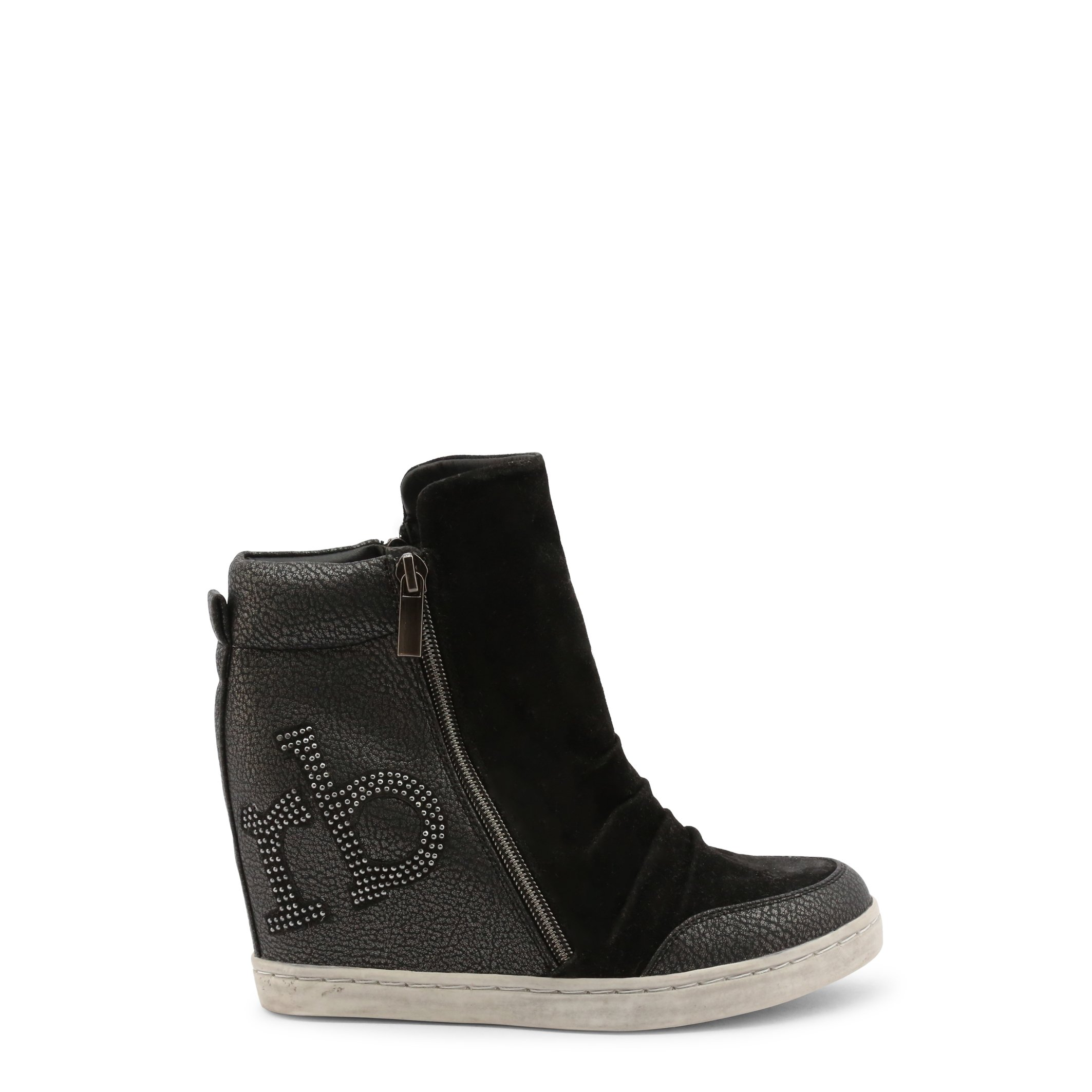 Roccobarocco Women's Ankle Boots Grey 342832 - black EU 37