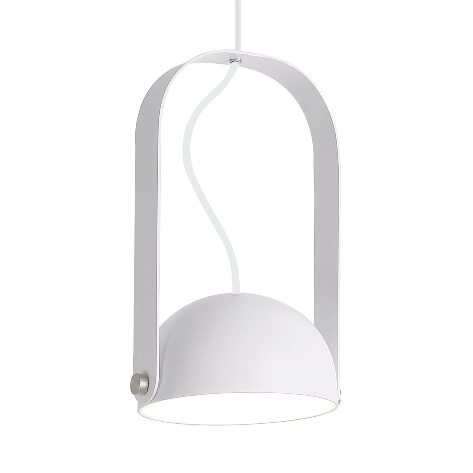 LED-riippuvalaisin Hemi, käännettävä, valkoinen
