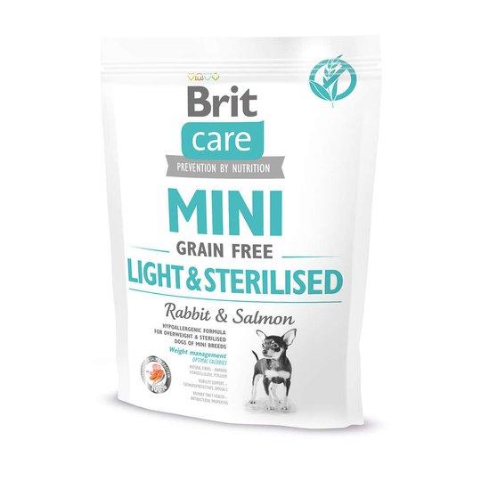 Brit Care Mini Grain Free Light & Sterilised (400 g)