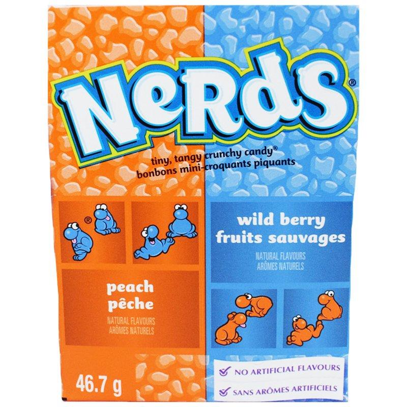 """Godis """"Peach & Wild berry"""" 46,7g - 50% rabatt"""