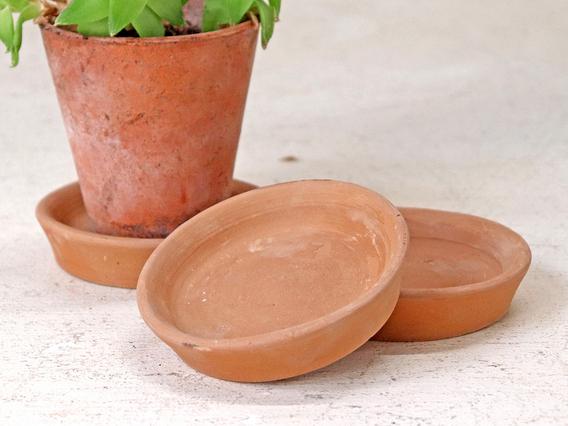 Terracotta Saucer - 9CM Small