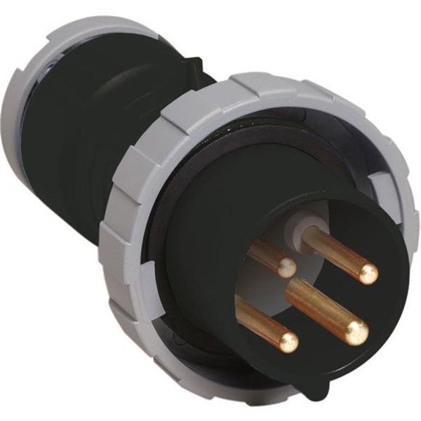 ABB 2CMA166478R1000 Pistotulppa IP67, 16 A, ruuvikiristin 4-napainen, musta