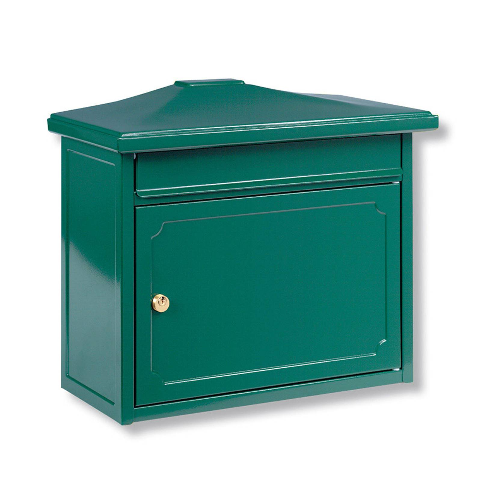 Kopenhagen-postilaatikko, vihreä