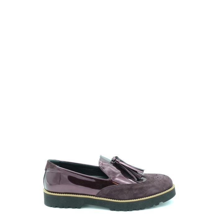 Hogan Women's Slip On Shoes Bordeaux 165555 - bordeaux 37