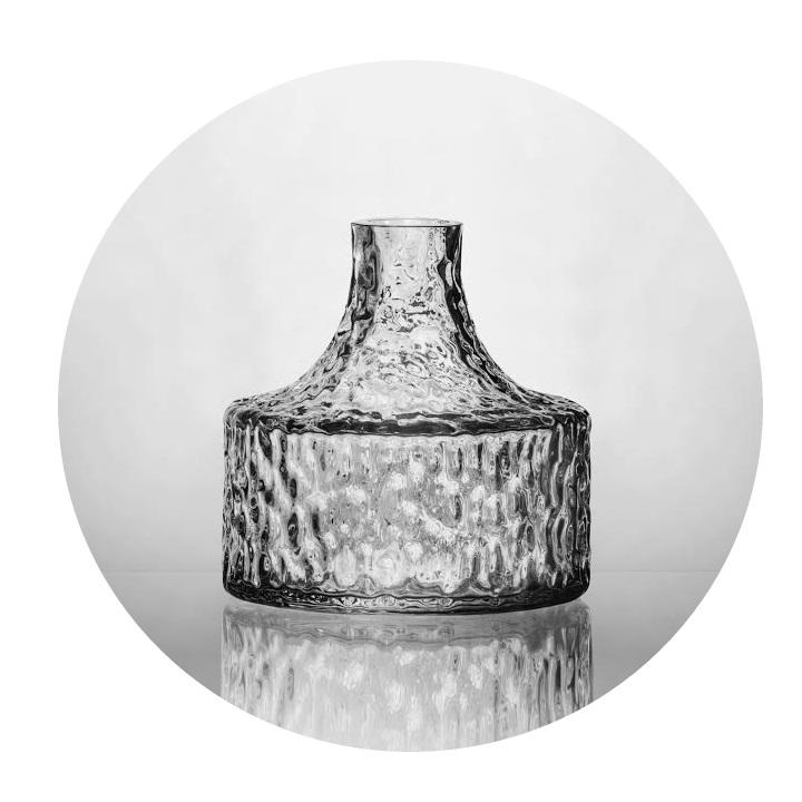 Kolonn vas liten, Skrufs Glasbruk