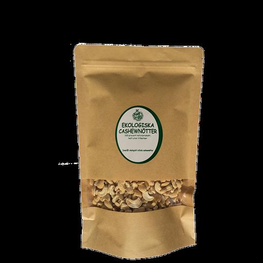 Ekologiska Cashewnötter, 500 g