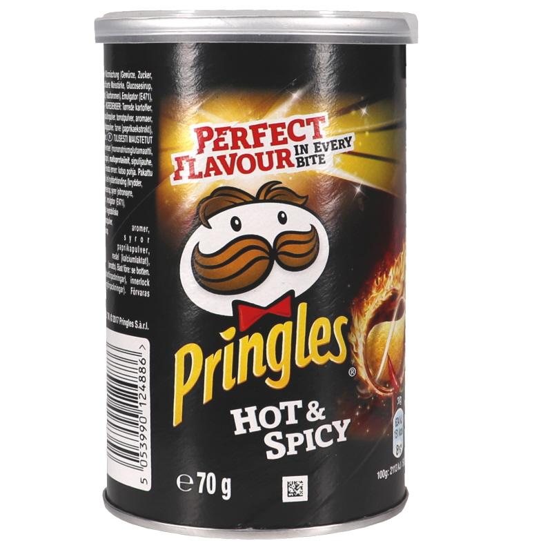 Pringles Hot & Spicy - 33% rabatt