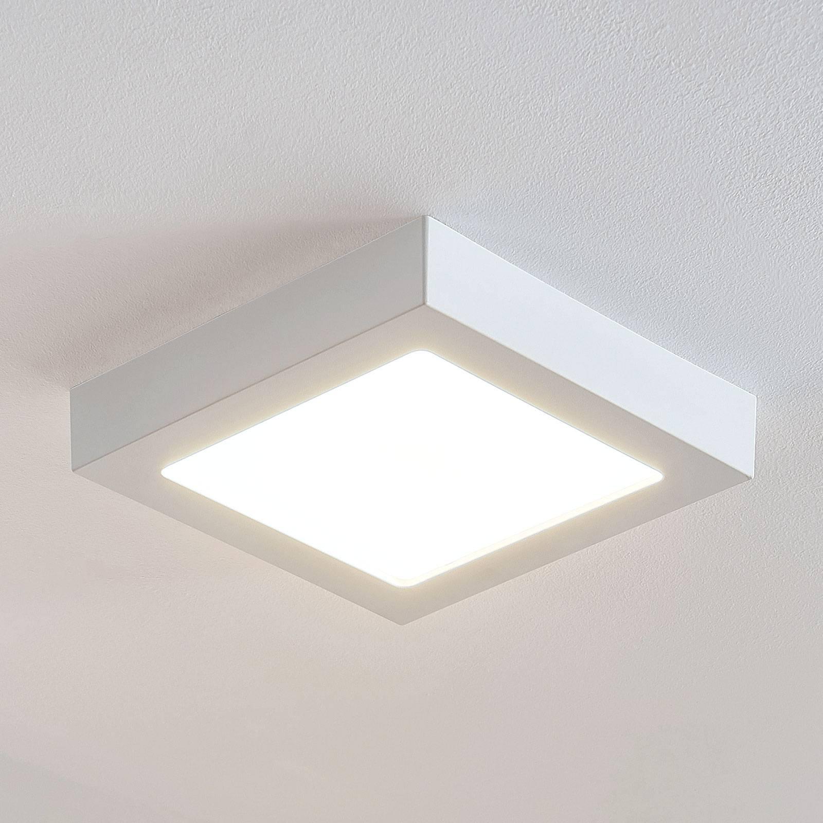 LED-kattovalo Marlo valk. 3000K kulmikas 23,1cm