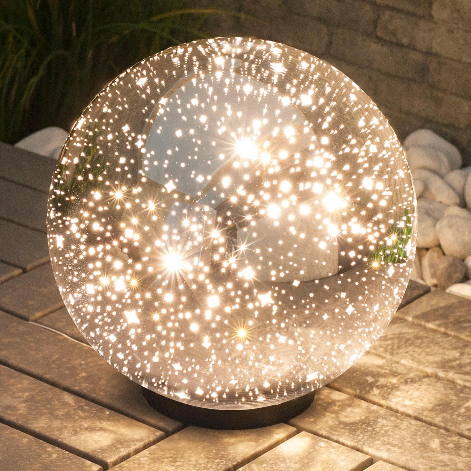 Lindby Kamui -LED-koristevalaisin, Ø 30 cm