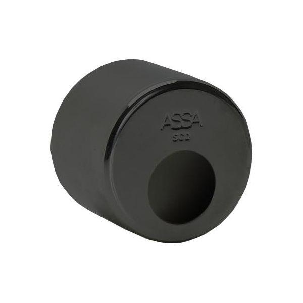 ASSA 802357100044 Sylinderhylse rund Brunoksidert messing