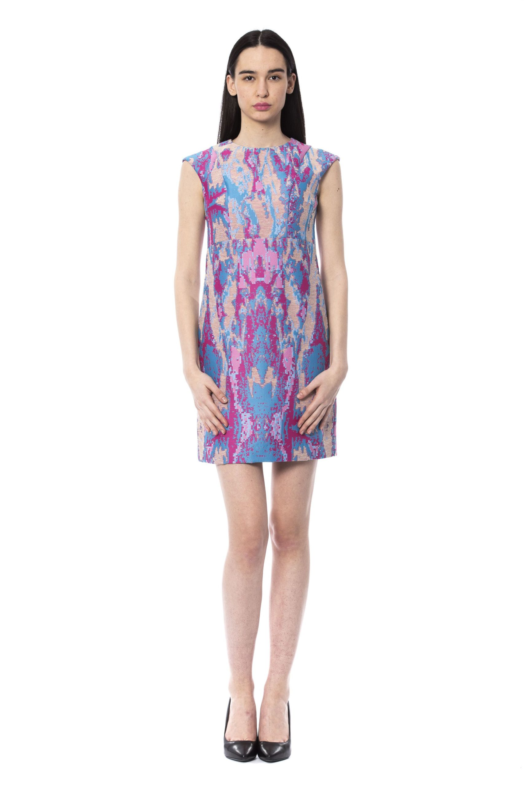 Byblos Women's Sleeveless Dress Multicolour BY996374 - IT42 | S