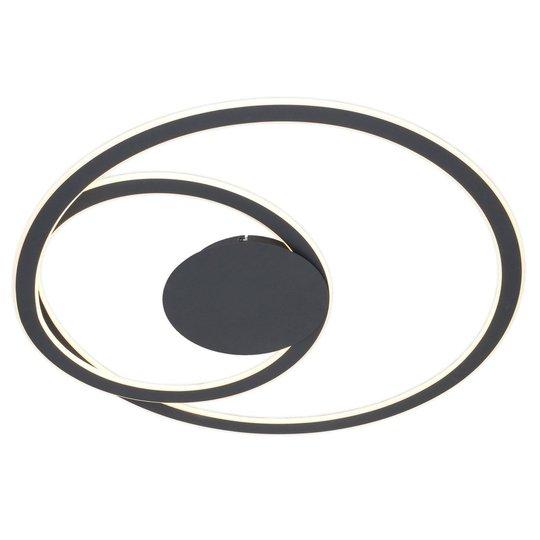 Lindby Favio -LED-kattovalaisin, himmennys, Ø 81cm