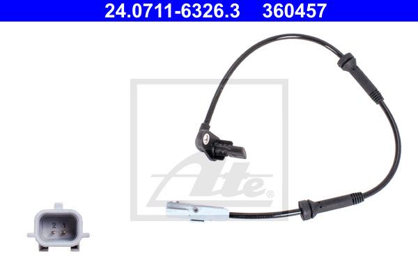 ABS-anturi ATE 24.0711-6326.3