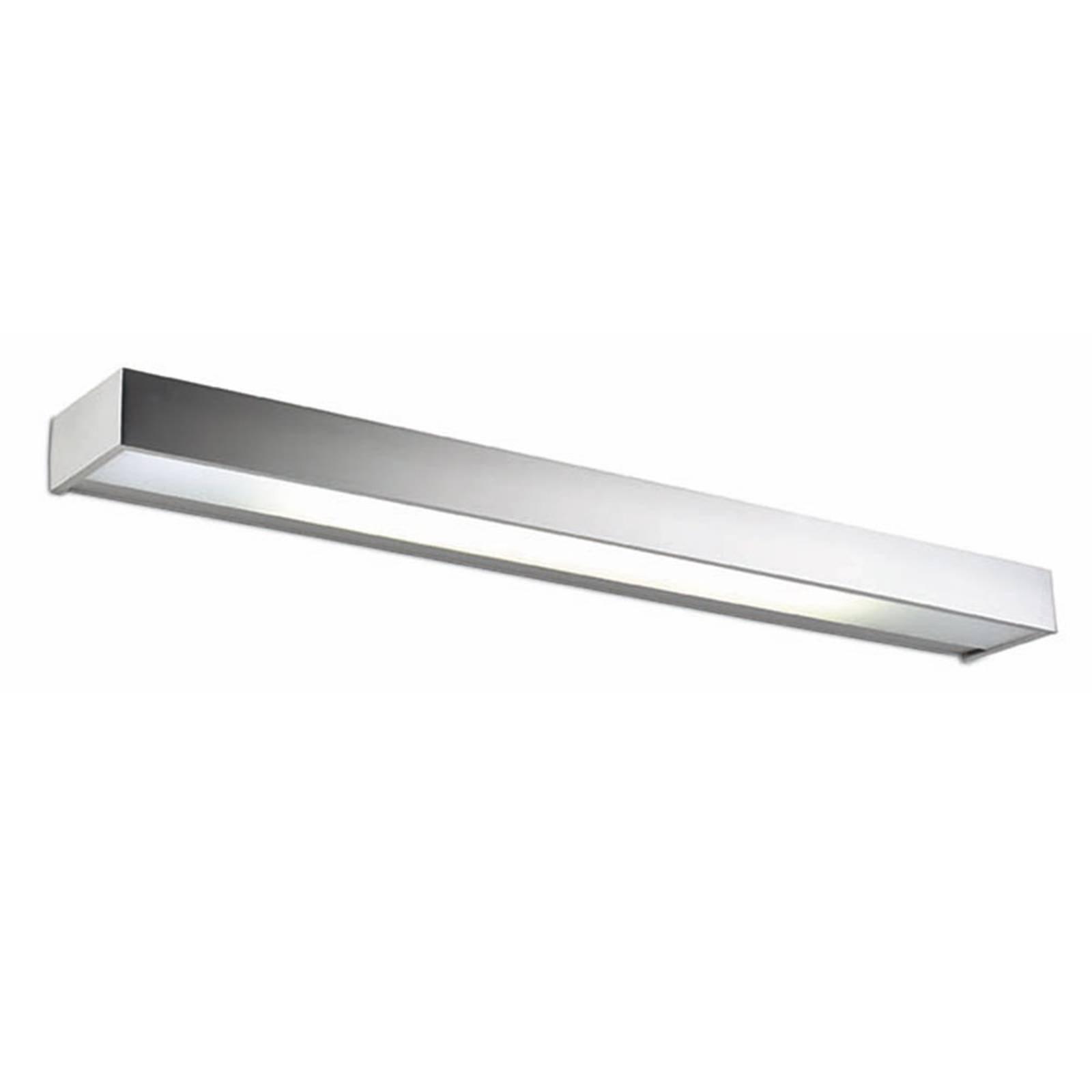 Utmerket LED-vegglampe Apolo, 80 cm nikkel